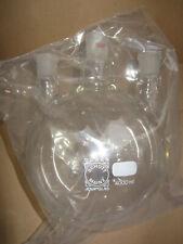 4000 mL Dreihalskolben 3x NS29 4 Liter Rundkolben Schott Duran Chemie Labor Glas