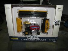 1/64 Ertl 2014 Farm Show Edition New Holland SpeedRower 260 with 3 Heads