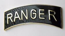 US ARMY RANGER LARGE JACKET OR LAPEL PIN BADGE 2.5 INCHES