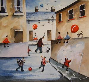 ORIGINAL WATERCOLOUR PAINTING back streets scene series no 157