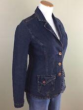 Levi Strauss Signature Stretch Blue Denim Jean Jacket/Blazer Womens SMALL