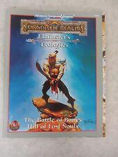 Advanced DnD ~ Elminster's Ecologies: The Battle of Bones Hill of Lost Souls TSR