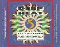 DEEP HEAT 5 - FEED THE FEVER various (2X CD) house techno deep house euro house
