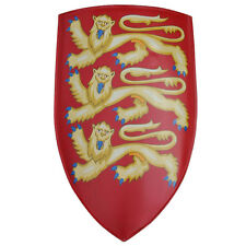 Renaissance Edward I of England Medieval Heater Knights Crusader Shield