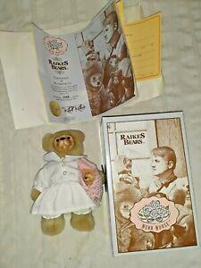 Raikes Bear Nena Nurse  MIB w/ COA  Complete!  1948/5000