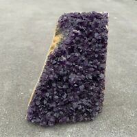 Amethyst Druze Crystal Cluster With Cut Base ~ Exact Specimen (ACB_17)
