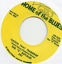 '5' ROYALES    CATCH THAT TEARDROP / GOOF BALL   HOME OF THE BLUES Re-Iss/Re-Pro