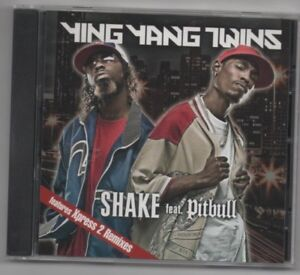 Ying Yang Twins Wait The Whisper Song and Shake Lot of 2 CD's Rare Remixes