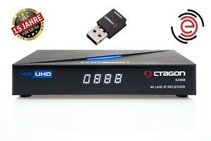 OCTAGON SX888 4K UHD IP Receiver H.265 1GB RAM 4GB Flash Stalker IPTV WLAN