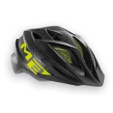Childrens enduro youth cycle helmet MET Crackerjack Black Green 52-57cm