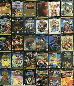 GAMECUBE Authentic Games Q - Z ( Nintendo Gamecube) CLEANED AND TESTED