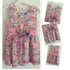 George Girls Pretty Summer Floral Party Dress 3-4 Years