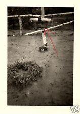 12827/ Originalfoto 6x9cm, Soldatengrab Ltn. Herbert Grohmann, Russland 13.7.41
