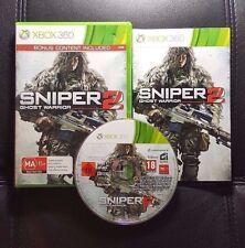 Sniper 2 Ghost Warrior (Microsoft Xbox 360, 2013) Xbox 360 Game - FREE POST