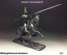 Knight tournament  Tin soldier 54 mm, figurine, metal sculpture HAND PAINTED