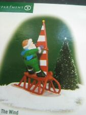 Dept 56 North Pole Catch the Wind #56807 Windsailing Elf New in Box