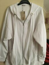 White Tracksuit Top, Size M, From Zara