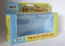 Repro Box Matchbox King Size K-14  Jumbo Crane Blisterbox