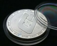 DASH coin Crypto currency. 1 oz 999 Silver Plated Collectible Novelty. UK SELLER
