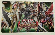 YuGiOh - Super Starter V For Victory PlayMat- Mint - Brand New - CHEAPEST.