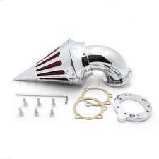 Chrome Spike Air Cleaner Filter Kits For Harley S&S Custom Cv Evo Xl Sportster