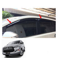 2016 17 Wind Deflector Weather Guard 4Pc Black Fits Toyota Innova Crysta AN140