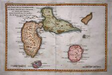More details for 1780 bonne - caribbean islands of guadeloupe & martinique handcolored map