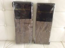 DONNA KARAN EXHALE COLLECTION ~ 2 KING PILLOW SHAMS ~ $380 RETAIL ~ TAUPE