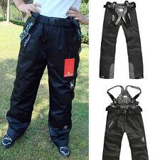 Plus Size Men's Pants Water Repellent Overalls Ski Winter Wear Windproof S-XXXL