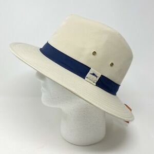 NWT Tommy Bahama Hat Large UPF 50 UV Sun Protection Fedora Beach Safari Marlin