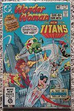 Wonder Woman #287 New Teen Titans Cyborg Starfire Robin Changeling Kid Flash