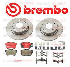 Honda Accord 03-07 Rear Brake Rotors with Brake Pads Brembo OEM Kit