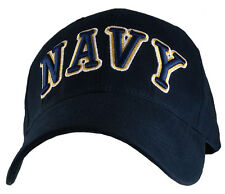 U.S. NAVY Hat / USN Dark Navy Baseball Cap 6403