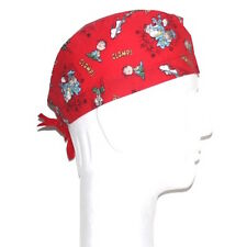 Peanuts Gang Snoopy & Linus Fighting theme scrub hat