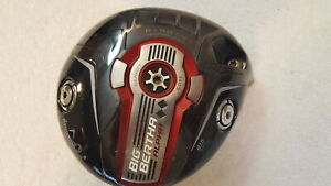Used Callaway Big Bertha Alpha 815 Double Black Diamond 9* Driver - Head Only