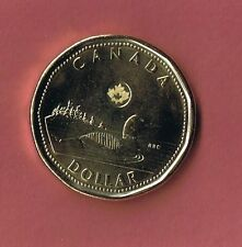 2015 CANADA NEW STYLE  $1 LOONIE COIN UNCIRCULATED FROM MINT ROLL CANADIAN