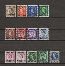 More details for qatar 1957-59 sg 1/12, 9a used cat £26