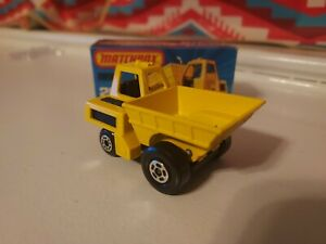 VTG Lesney Matchbox Superfast #26 Site Dumper Dump Truck New in Original Box NIB