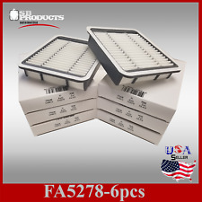 FA5278 CASE OF 6 CA8613 46465 ENGINE AIR FILTERS ~98-05 LEXUS GS300 01-05 IS300