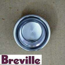 GENUINE BREVILLE COFFEE MACHINE DUAL WALL FILTER SINGLE CUP PART BES860/11.31