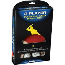 New listing Franklin 2-Player Table Tennis Paddle and Ball Set