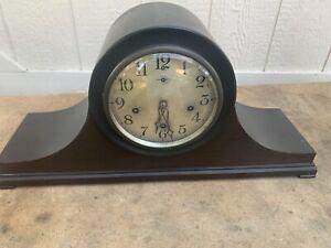 Antique Mantel Clock NEW HAVEN Napoleon Style Clock Pre 1930