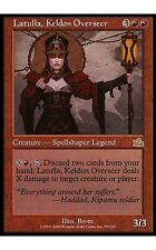 1x Latulla, Keldon Overseer Prophecy MtG Magic Red Rare 1 x1 Card Cards MP