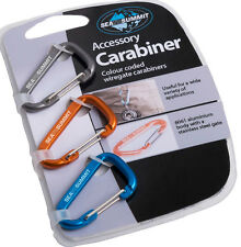 Sea to Summit Accessory Wiregate Light Weight Mini Carabiner (3 Pack)