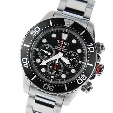 Seiko Solar Chronograph Gents Diving Watch SSC015P1 SSC015 SSC015P