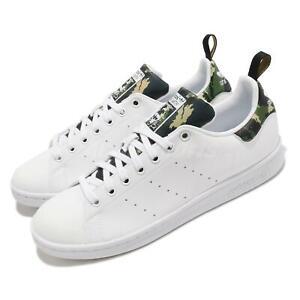 adidas Originals Stan Smith White Camo Men Casual Lifestyle Sneaker Shoes GV9708