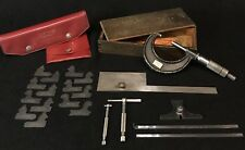 New listing Lot Lufkin Machinist Tools Rules Gages Micrometer No. 1942 79-M 77A 511 2310 891