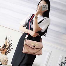 New Womens Bee Faux Leather Bag Messenger Cross body Shoulder Bag Lady Handbags
