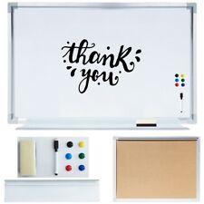 Memoboard 70x50 Präsentationstafel Whiteboard Wandtafel Schreibtafel Pinnwand ✏️