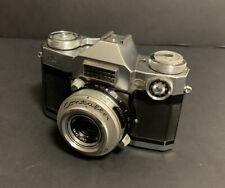 Zeiss Ikon Contaflex Camera Synchro-Compur Tessar 2.8/50 50mm Body Lens Germany